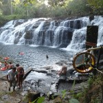 A cachoeira de Tijuípe está localizada na rodovia Ilhéus - Itacaré, é um ótimo lugar de descanso e relaxamento.