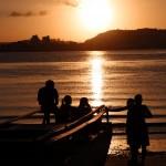Pôr do Sol da baía do Pontal - Foto Alfredo Filho